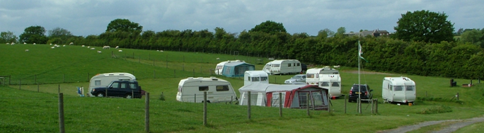 photo of rally caravans