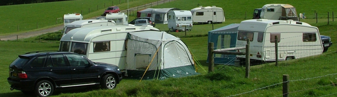 another photo of rally caravans